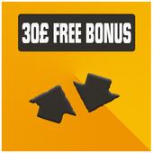 Mobile 30£ Bonus Account icon