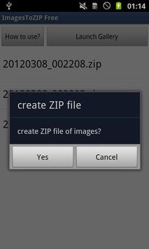 ImagesToZIP Free screenshot 1