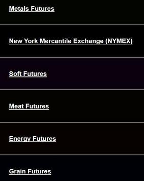 Commodities Market Prices Commodity Futures Index screenshot 3