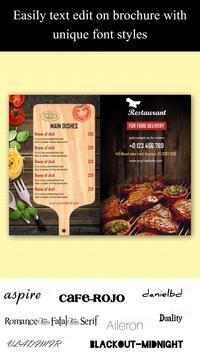 Brochure Maker, Leaflets Maker, Catalogue Maker screenshot 5