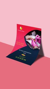 Digital Flyer & Poster Maker 2018 screenshot 2