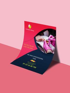 Digital Flyer & Poster Maker 2018 screenshot 7