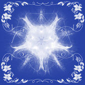 Create a photo montage of snow icon