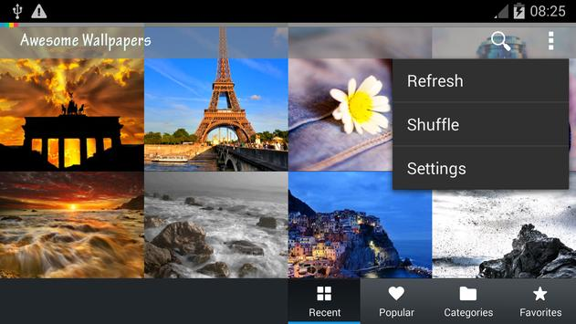 Awesome Wallpapers HD apk screenshot