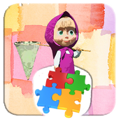 Puzzle Jigsaw Masha Great Super icon