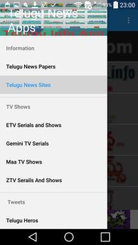 Telugu News - Telugu Information poster