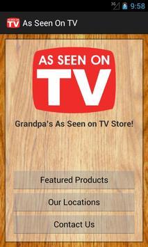As Seen On TV Store screenshot 1