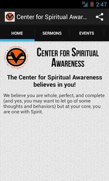Center for Spiritual Awareness screenshot 1