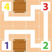 Numbers Connect: Puzzles Brain Teasers icon
