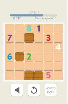 Numbers Connect: Puzzles Brain Teasers apk screenshot