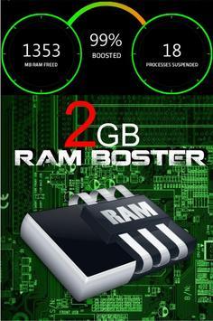 2 Gb RAM Memory Booster poster