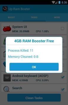 3 Gb RAM Memory Booster screenshot 3