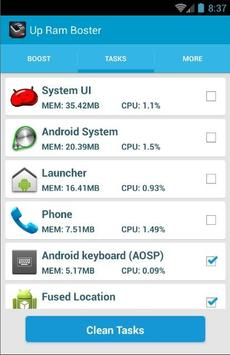 3 Gb RAM Memory Booster screenshot 2