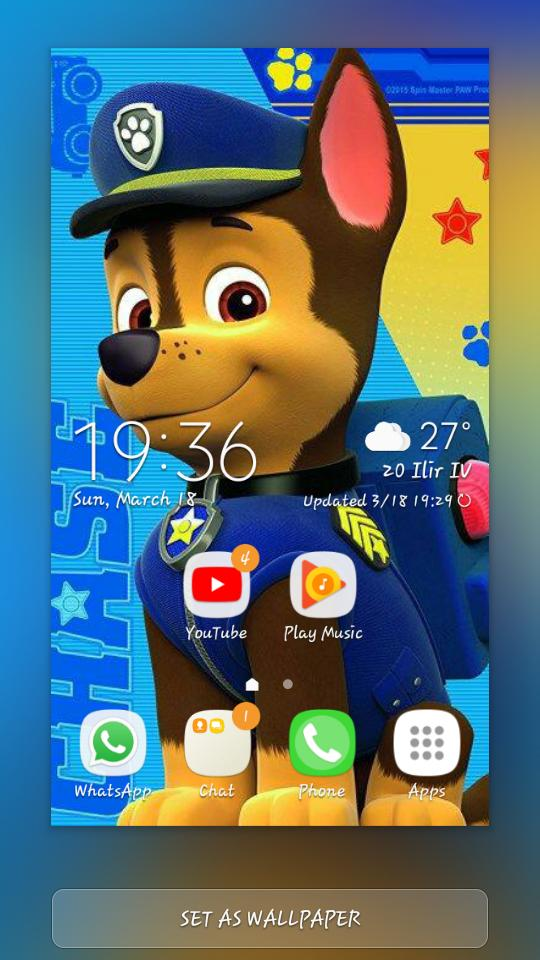 Paw Patrol Hd Wallpaper For Android Apk Download