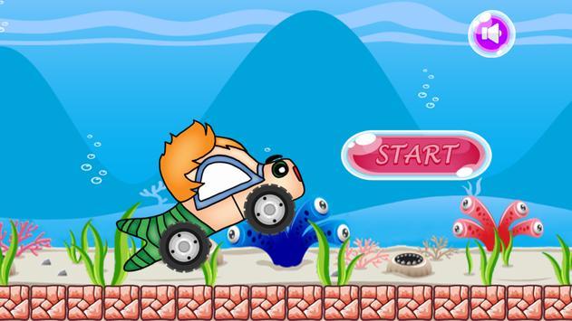 sea adventure bubble guppies car racing poster