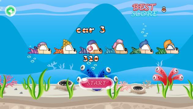 sea adventure bubble guppies car racing screenshot 2