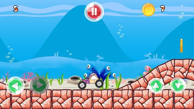 sea adventure bubble guppies car racing screenshot 3