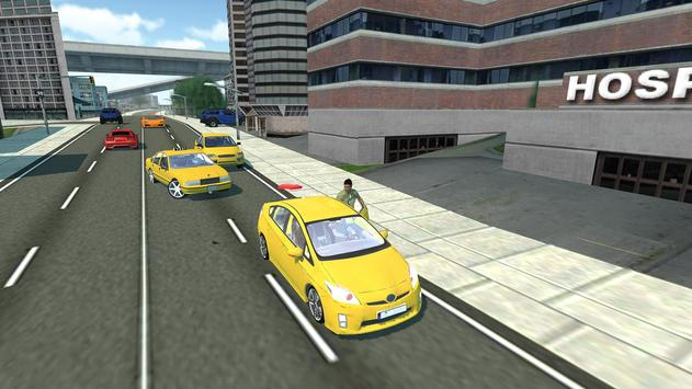 Taxi Driver : Crazy Taxi Game screenshot 7