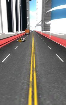 Funny City Motor Traffic Rush 3D apk screenshot