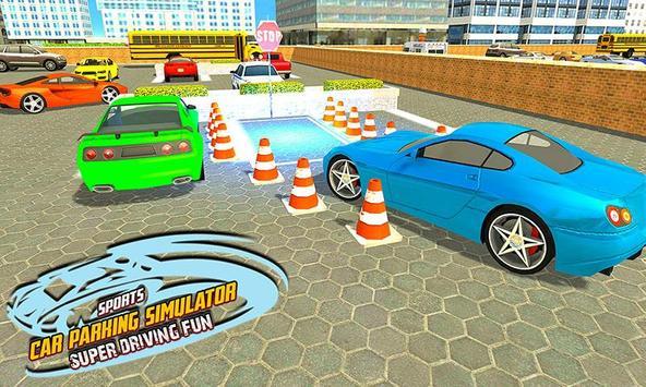 Sports Car Parking Simulator – Super Driving Fun screenshot 3