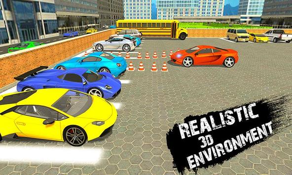 Sports Car Parking Simulator – Super Driving Fun poster