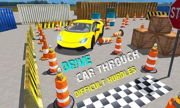 Sports Car Parking Simulator – Super Driving Fun screenshot 1