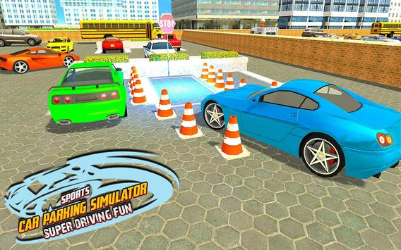 Sports Car Parking Simulator – Super Driving Fun screenshot 6