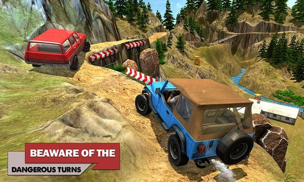 Offroad Car Driving 2018 : Uphill Racing Simulator screenshot 1