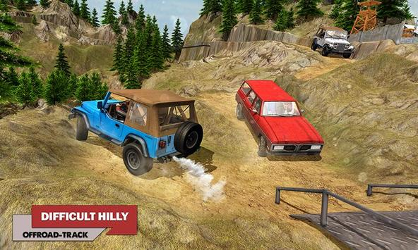 Offroad Car Driving 2018 : Uphill Racing Simulator screenshot 2