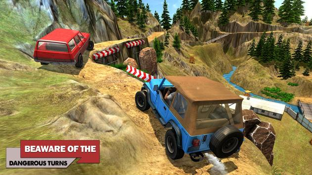 Offroad Car Driving 2018 : Uphill Racing Simulator screenshot 7
