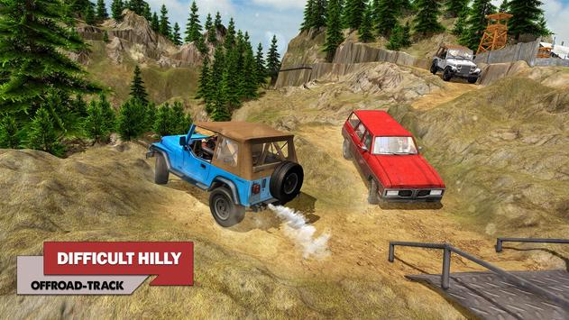 Offroad Car Driving 2018 : Uphill Racing Simulator screenshot 5