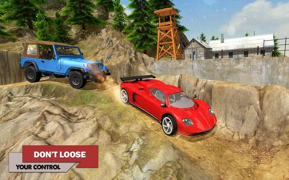 Offroad Car Driving 2018 : Uphill Racing Simulator screenshot 8
