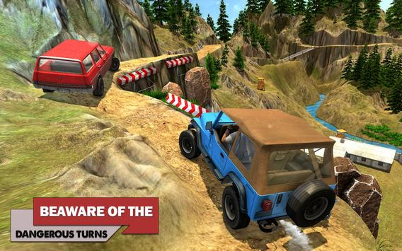 Offroad Car Driving 2018 : Uphill Racing Simulator screenshot 9