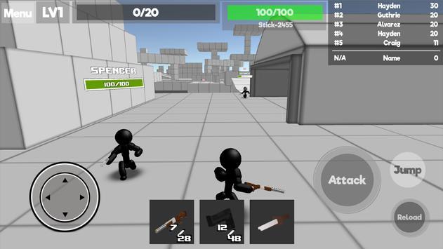 Stickman Unknown Battlegrounds स्क्रीनशॉट 10