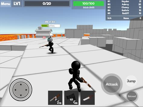 Stickman Unknown Battlegrounds स्क्रीनशॉट 6