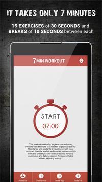 7 Minutes Workout Program apk screenshot