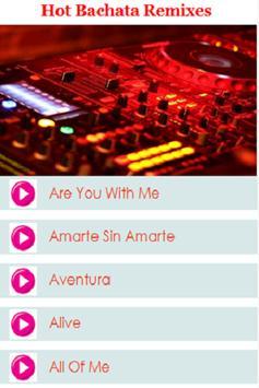 Hot Bachata Remixes apk screenshot