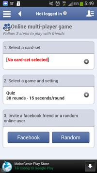English - Esperanto flashcards apk screenshot