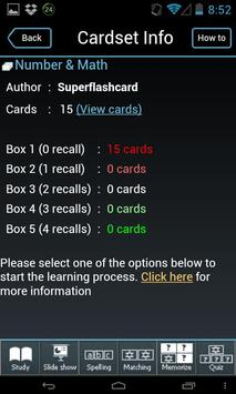 English - Estonian flashcards apk screenshot