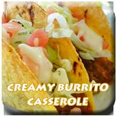Recipe Creamy Burrito Caserole icon