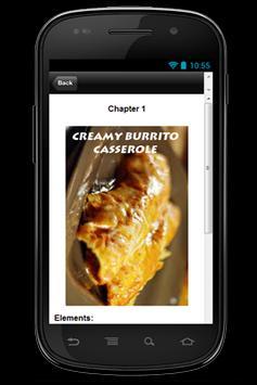 Recipe Creamy Burrito Caserole apk screenshot