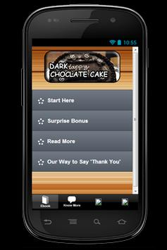 Free Recipe Dark ChocolateCake poster