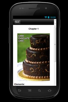 Free Recipe Dark ChocolateCake apk screenshot