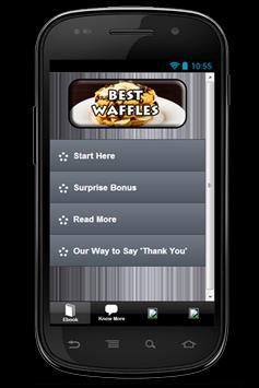 Recipes The Bestever Waffles poster