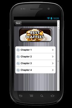Recipes The Bestever Waffles apk screenshot