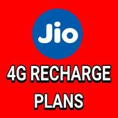 Jio 4G Recharge Plan icon