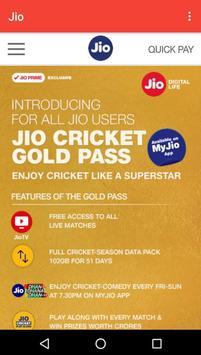 Jio 4G Recharge Plan poster