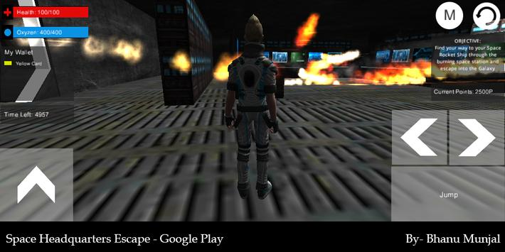 Space Headquarters Escape apk screenshot