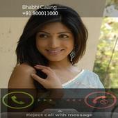 Hot Bhabhi Fake Call Prank icon