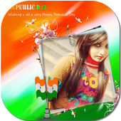India Flag Photo Editor icon